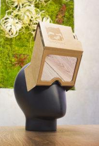 vr bangers,ar headset,cardboard