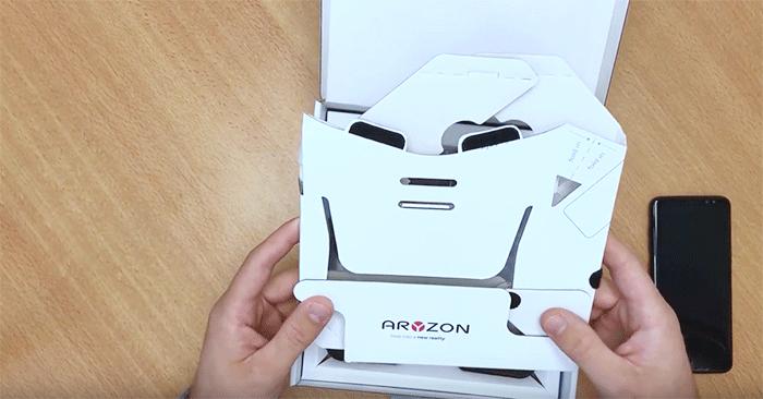 Aryzon,unboxing