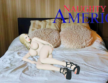 naughty america,3d,ar,augmented reality,girl